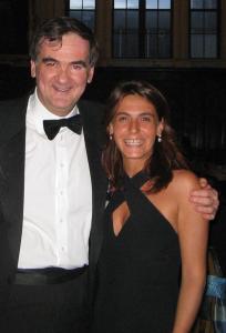 Vittoria Baraldini con Agostino Pierro