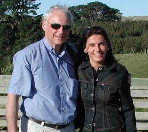 Vittoria Baraldini con Prof P Berlien