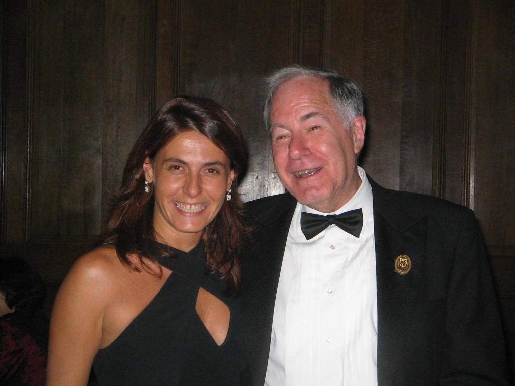 Vittoria Baraldini con Lewis Spitz