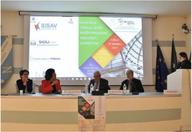 """Congresso """"Genetica Clinica delle Malformazioni Vascolari Complesse"""" Milano 29 Settembre 2017 - foto 1"""